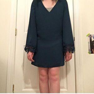 Jade lacy dress